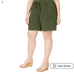 NWOT Karen Scott Lisa casual short